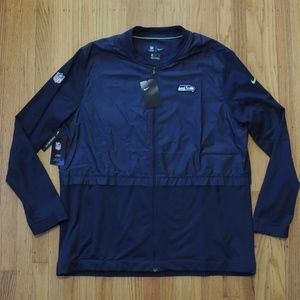 Seattle Seahawks Jacket Nike NFL On Field NEW